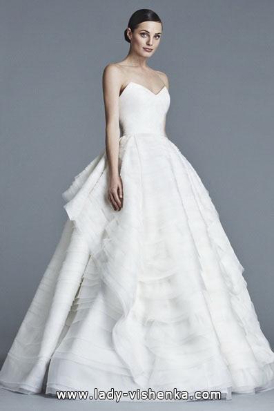 Весільну сукню принцеси 2016 - J. Mendel
