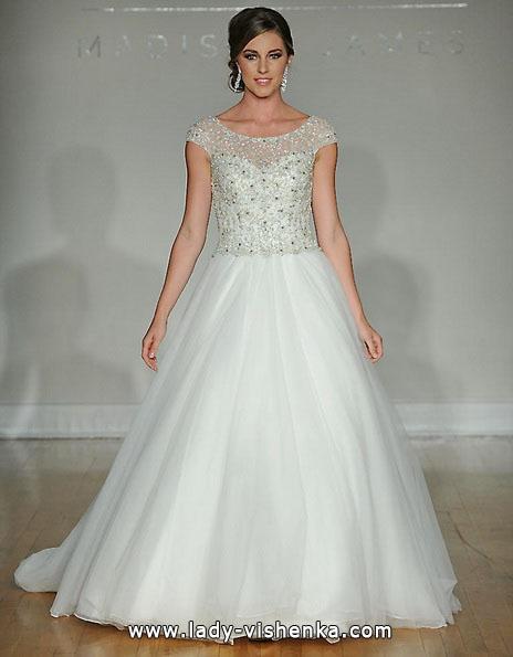Весільну сукню принцеси 2016 - Allure