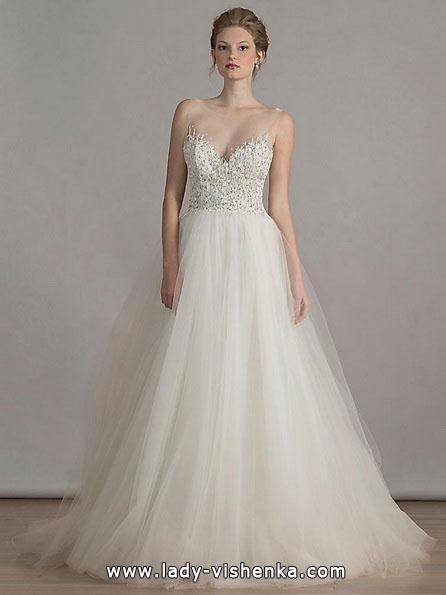 Весільну сукню в стилі принцеса - Liancarlo