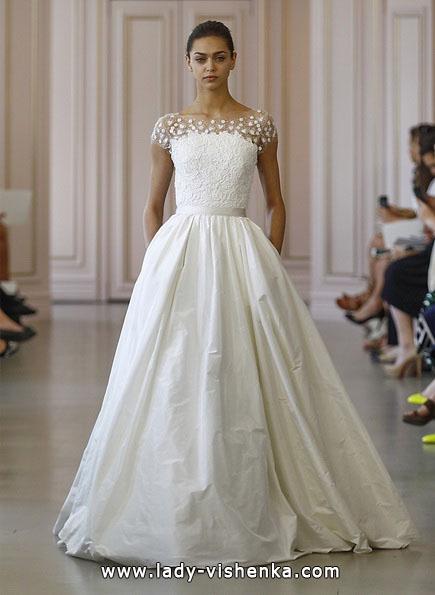 Весільну сукню принцеси 2016 - Oscar De La Renta