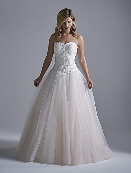 Рожеве весільне плаття принцеси - OPULENCE