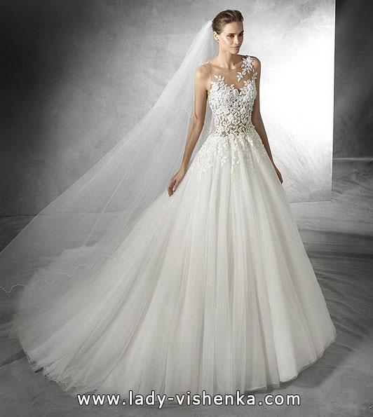 Весільну сукню принцеси фото - Pronovias