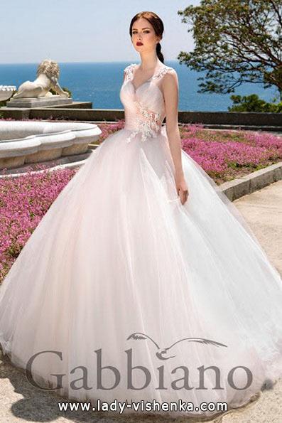 Пишна весільна сукня принцеси - Gabbiano