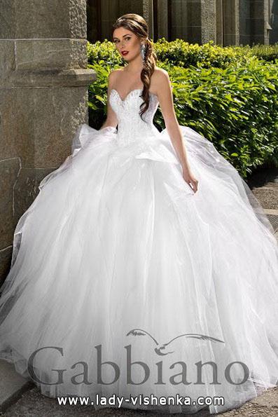 Весільну сукню принцеси фото - Gabbiano