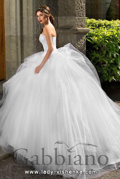 Красиве весільне плаття принцеси - Gabbiano