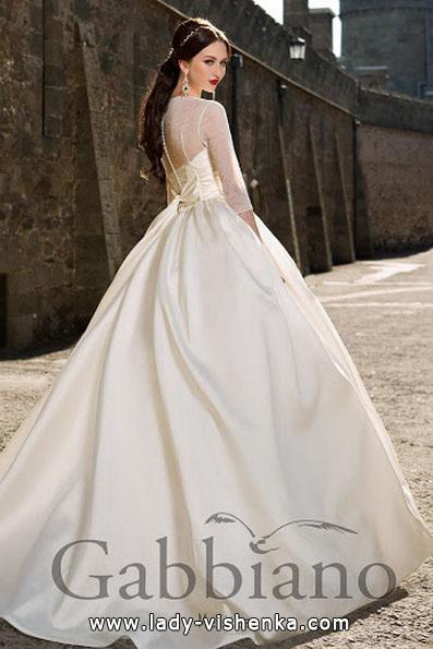 Спина весільної сукні принцеси - Gabbiano