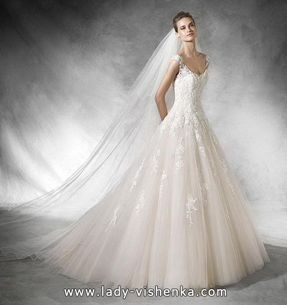 Весільне плаття принцеса фото - Pronovias