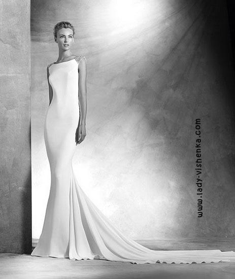 Пряме весільну сукню Pronovias