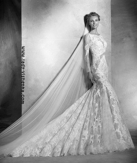 Прозорі весільні сукні Pronovias