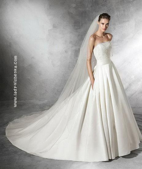 Пишне довге плаття 2016 Pronovias