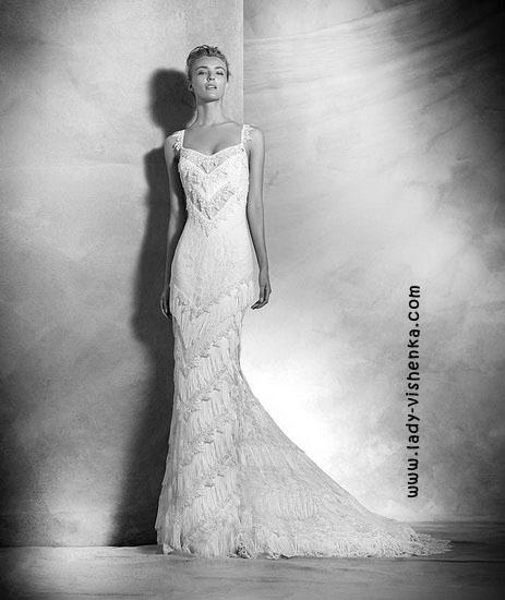 Відкриті весільні сукні Pronovias