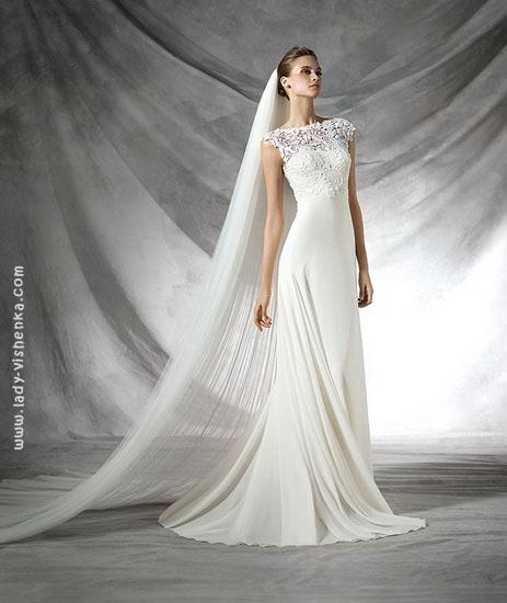 Легке весільну сукню Pronovias