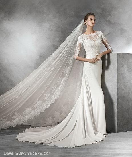 Елегантна весільна сукня Pronovias