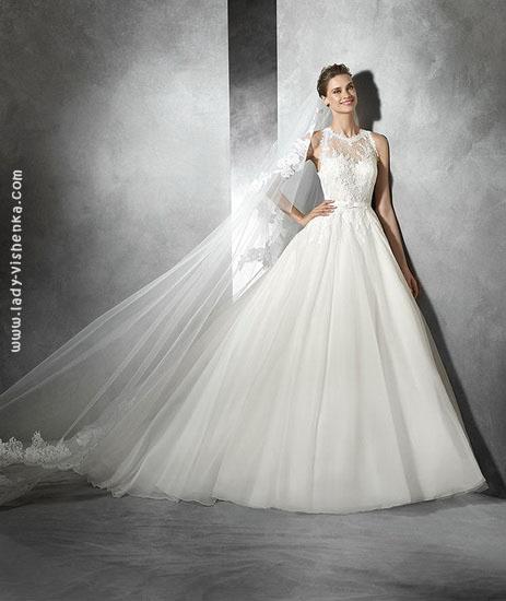 Шикарні весільні сукні фото Pronovias
