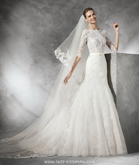 Вбрання весільні сукні Pronovias