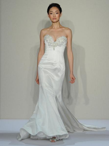Атласне плаття - русалка - Dennis Basso
