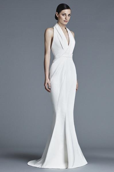 Атласне плаття - русалка - J Mendel