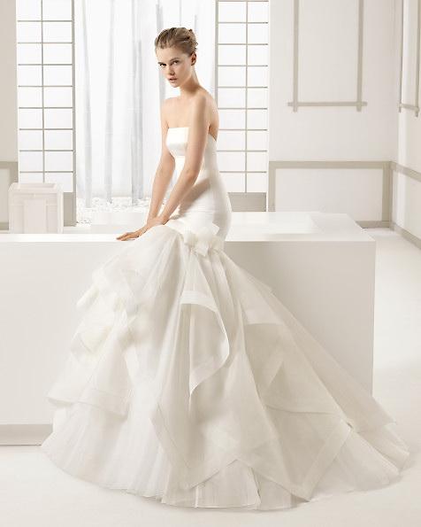Атласне плаття - русалка - ROSA CLARA