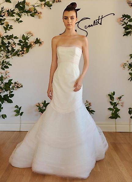 Атласне плаття - русалка - Austin Scarlett