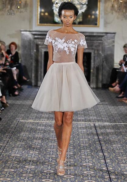 Короткі пишні весільні сукні 2016 - Mira Zwillinger