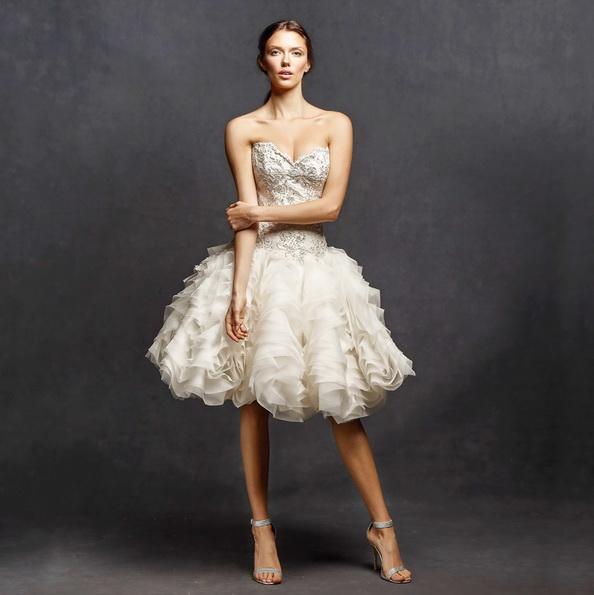 Короткі пишні весільні сукні 2016 - Isabelle Armstrong