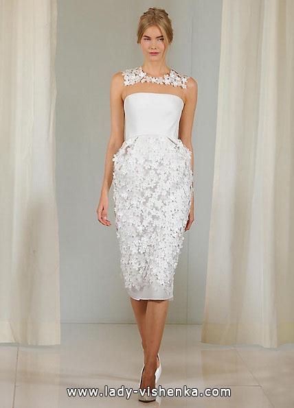 Короткі весільні сукні 2016 - Angel Sanchez