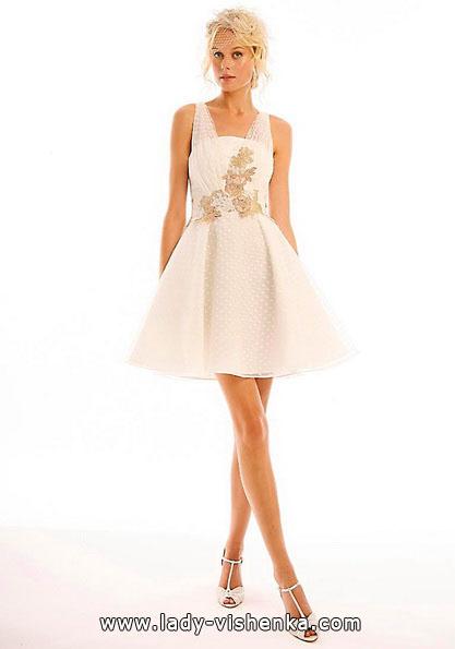 Короткі весільні сукні 2016 - Eugenia Couture