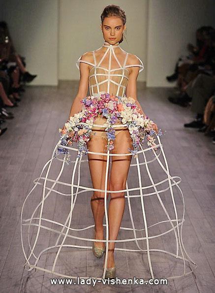 Весільне плаття коротке відкрите Hayley Paige
