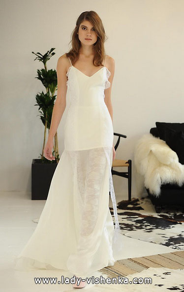 Коротке весільне плаття Бохо 2016 - Houghton