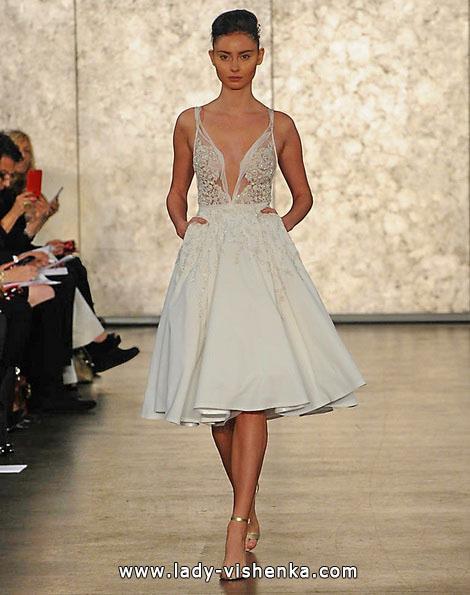 Весільні сукні короткі 2016 - Inbal Dror