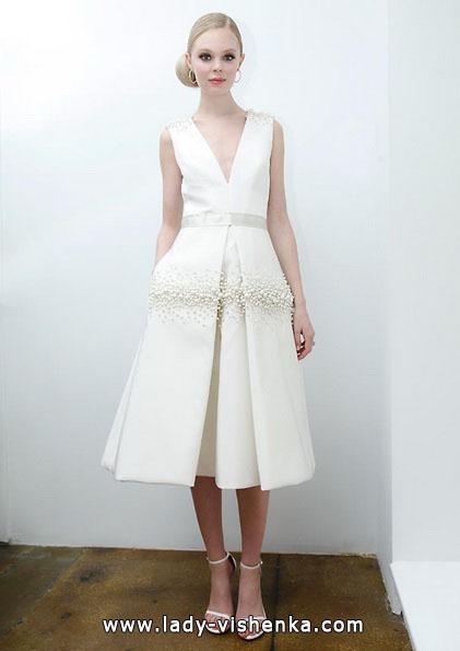 Короткі весільні сукні 2016 - Pamella Roland