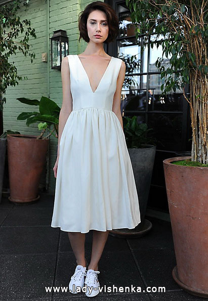 Короткі весільні сукні 2016 - Sarah Seven
