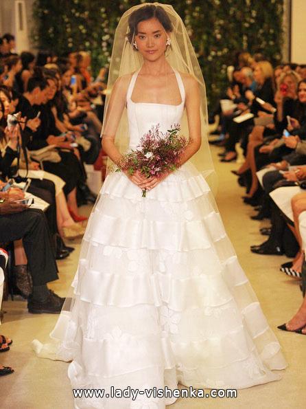 найпростіше весільну сукню - Carolina Herrera
