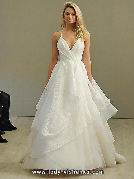 Просте весільну сукню 2016 - Hayley Paige