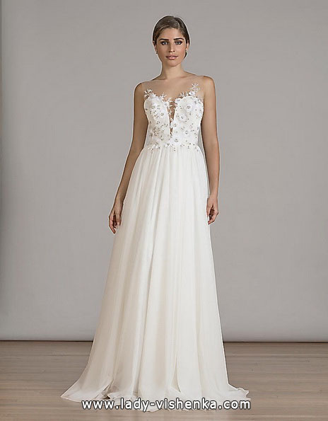 Прості весільні сукні фото - Liancarlo