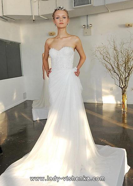 Просте весільну сукню 2016 - Marchesa