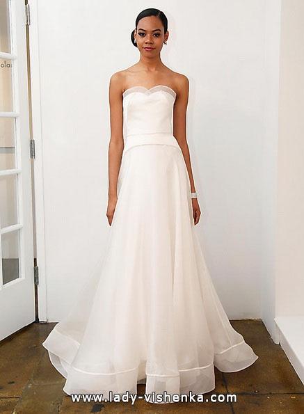 Просте весільну сукню 2016 - Pamella Roland