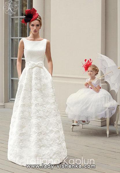 Просте весільну сукню 2016 - Tatiana Kaplun