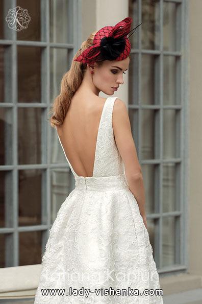 Просте біле весільне плаття - Tatiana Kaplun