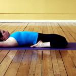 Пози йоги — Сплячий герой