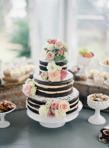 Весільний торт своїми руками
