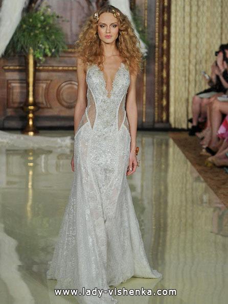 Прозоре весільну сукню - Galia Lahav