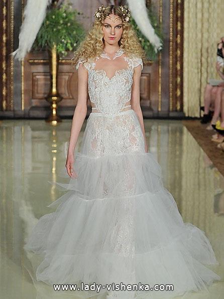 Прозорі весільні сукні фото - Galia Lahav