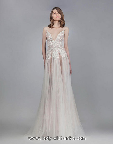 Прозоре весільну сукню - Victoria KyriaKides