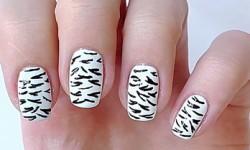 Зебра нігті