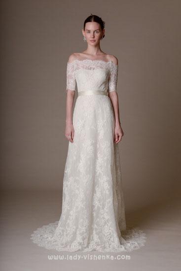 Красиві весільні сукні фото Marchesa