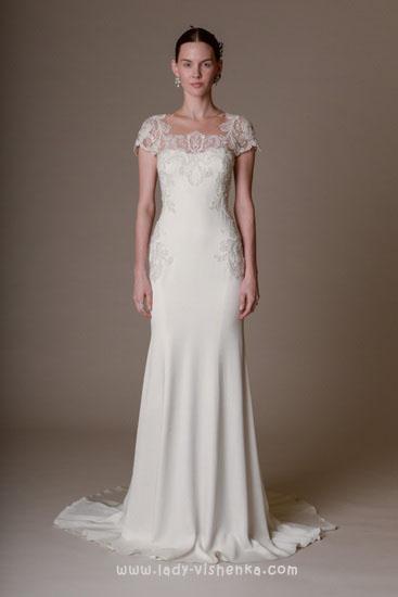Скромні весільні сукні Marchesa