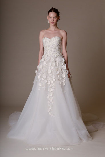 найкрасивіші весільні сукні Marchesa
