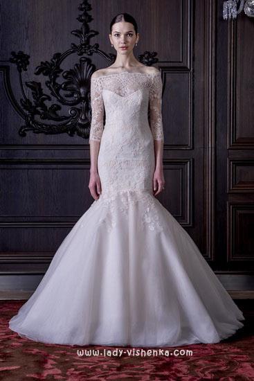 Довгі весільні сукні Монік Люлье