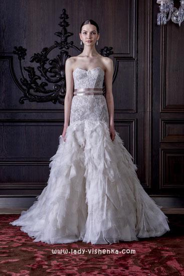 Весільні сукні 2016 фото Монік Люлье